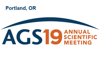 American Geriatrics Society AGS 2019 Annual Scientific Meeting