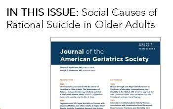 JAGS Journal of the American Geriatrics Society
