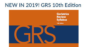 Geriatrics Review Syllabus GRS 10th Edition