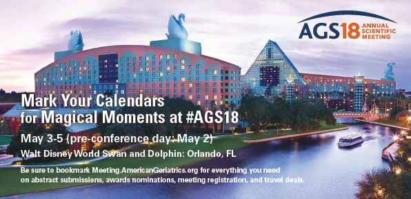 Mark your calendar for magical moments at #AGS18