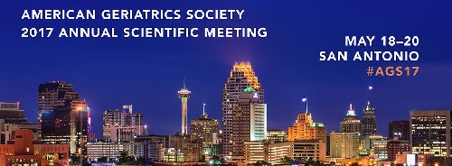 Get CME/CE credit for the American Geriatrics Society 2017 Annual Meeting