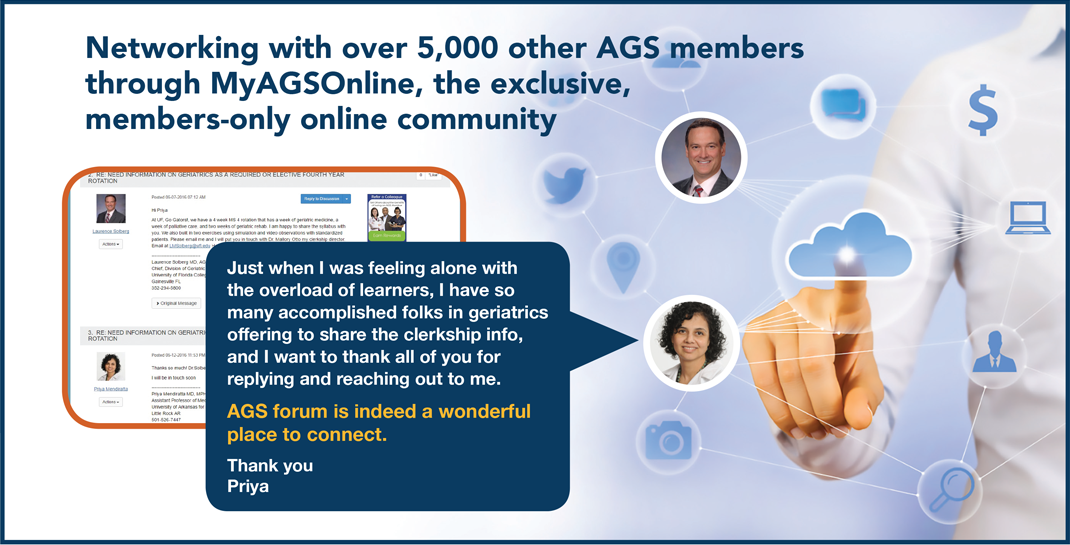 MyAGSOnline - a forum of AGS members