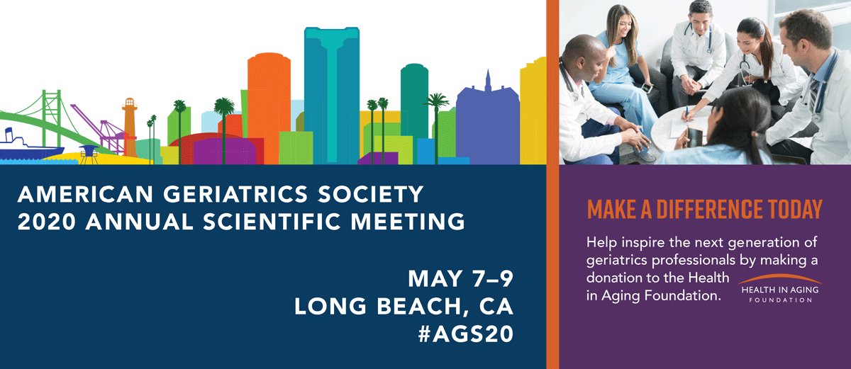 The AGS 2020 Annual Scientific Meeting
