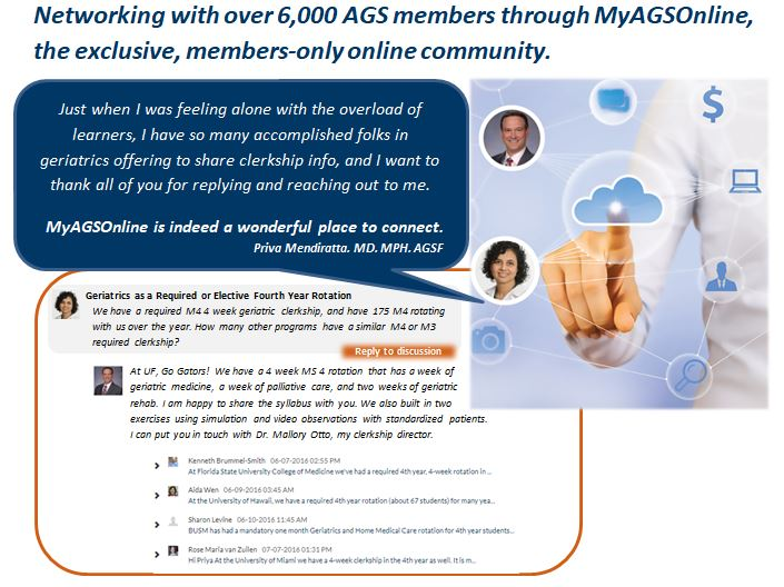 MyAGSOnline - Member Login | American Geriatrics Society