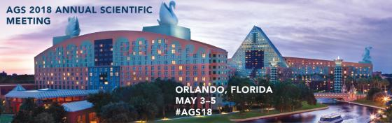 #AGS18: May 3-5, 2018, in Orlando, FL