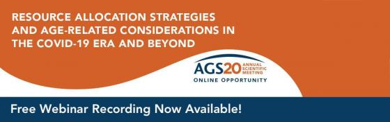 Resource Allocation Strategies and Age-Related Considerations in the COVID-19 Era and Beyond