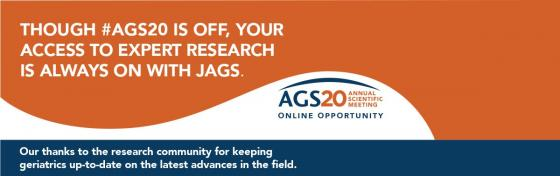 #AGS20 Abstracts Now Available with JAGS