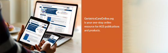 GeriatricsCareOnline.org resource for AGS publications