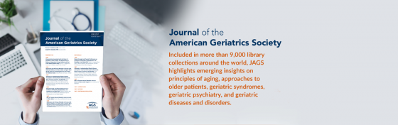 JAGS - Journal of the American Geriatrics Society