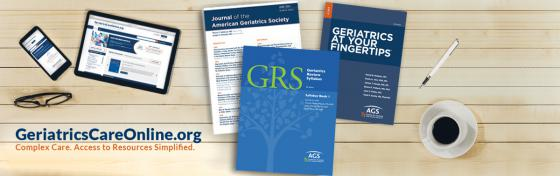 AGS Publications, Resources, and Tools at GeriatricsCareOnline.org