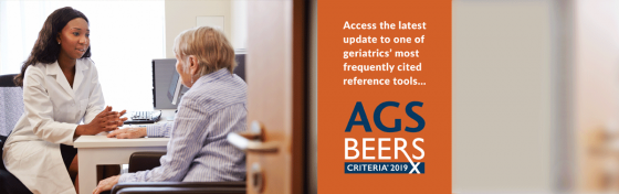 Access AGS 2019 Beers Criteria on GeriatricsCareOnline.org