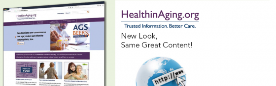 Introducing the NEW HealthinAging.org
