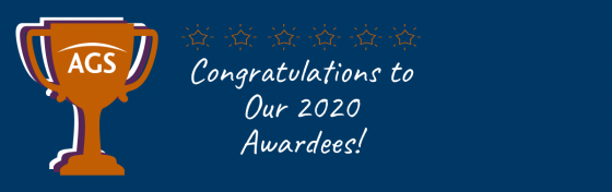 Congratulations to Our 2020 Awardees!